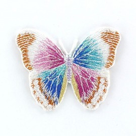 Thermocollant Papillon B Blanc