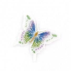 Thermocollant Papillon C Blanc