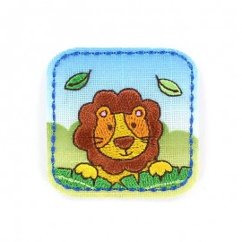 Thermocollant Animaux de la jungle Enfantin - Lion