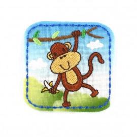 Thermocollant Animaux de la jungle Enfantin - Singe