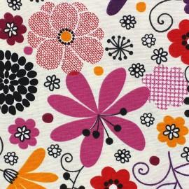 Tissu toile Happy Multi x 10cm
