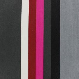 Tissu coton enduit Sebastian Anthracite x 10cm