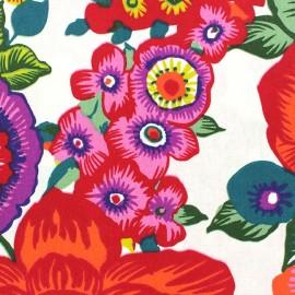 Tissu coton enduit Amparo Multicolore x 10cm