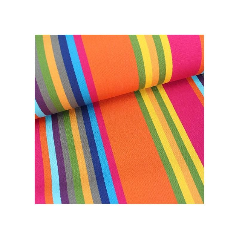 tissu toile transat playa sao paulo fuchsia 43cm x 10cm. Black Bedroom Furniture Sets. Home Design Ideas