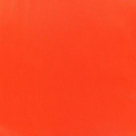 Tissu piqué de coton Perle orange x 10cm