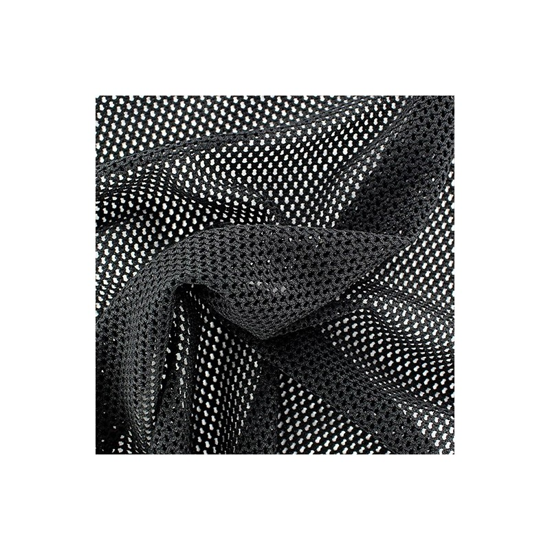 Tissu polyester r sille noir x 10 cm ma petite mercerie - Teindre tissu polyester ...