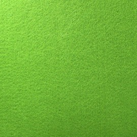 Tissu Feutrine épaisse vert anis x 10cm