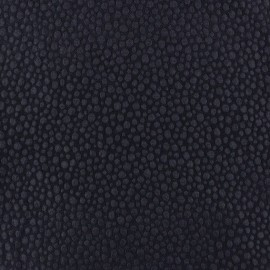 Tissu Gaufré Small Stones marine x 10cm