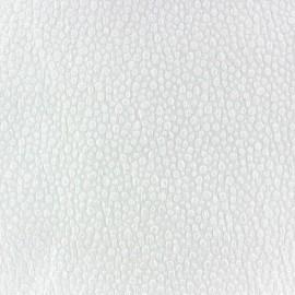Tissu Gaufré Small Stones blanc x 10cm
