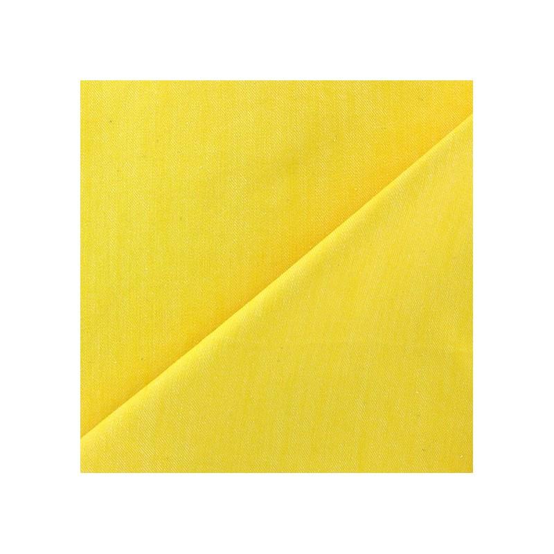 Tissu jeans color jaune x 10cm ma petite mercerie - Tissus bohemes colores ...