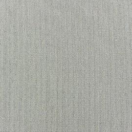 Tissu lin lurex Scarlet gris x 10cm