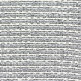 Tissu lin lurex Brunelle gris x 10cm