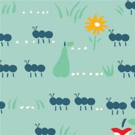 Tissu coton Ant March x 10 cm