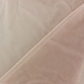 Tulle souple rose dragée x 10cm