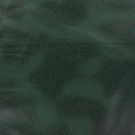 Tissu Suédine Austin vert bouteille x 10cm