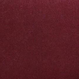 Tissu Feutrine épaisse bordeaux x 10cm
