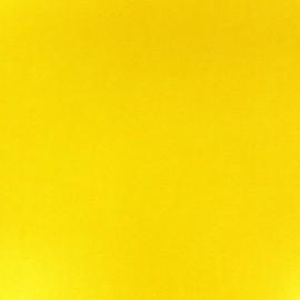Simili cuir jaune x 10cm