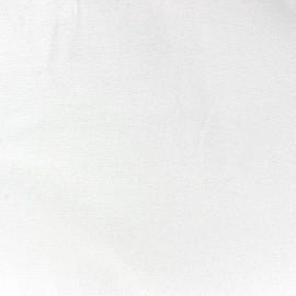 Jersey tubulaire bord-côte 1/1 blanc x 10cm