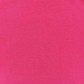 Jersey tubulaire bord-côte 1/1 fuchsia x 10cm