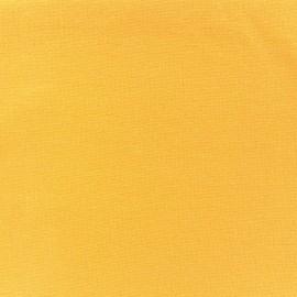 Jersey tubulaire bord-côte 1/1 jaune x 10cm