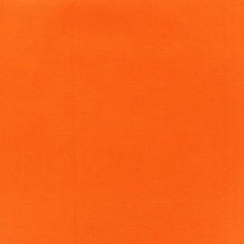 Jersey tubulaire bord-côte 1/1 orange x 10cm