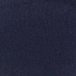 Jersey tubulaire bord-côte 1/1 bleu marine x 10cm