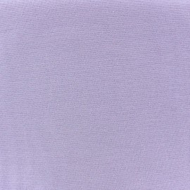 Jersey tubulaire bord-côte 1/1 parme x 10cm