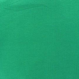 Jersey tubulaire bord-côte 1/1 vert impérial x 10cm