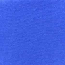Jersey tubulaire bord-côte 1/1 bleu roy x 10cm