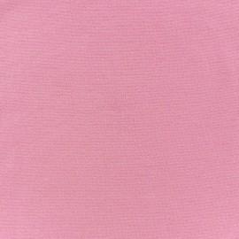 Jersey tubulaire bord-côte 1/1 rose x 10cm