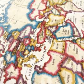 Tissu enduit vernis Atlas Antique x 65cm