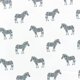 Tissu coton Zèbre x 10cm