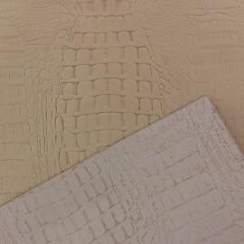 Cuir croco beige (2 tailles)