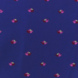 Tissu coton Petit bateau x 10cm