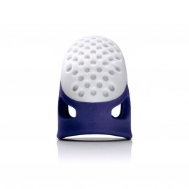 Ergonomic thimble - blue/white