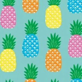 Tissu toile cirée Piña x 10cm