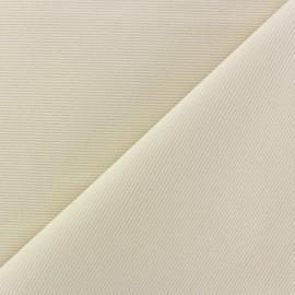 Tissu piqué de coton baby Sahara x 10cm
