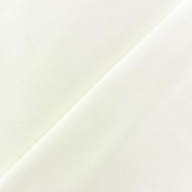Tissu piqué de coton baby crème x 10cm