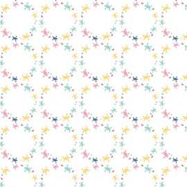 Tissu Saltwater Turtles White x 10cm