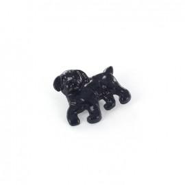 Bouton métal Dog marine