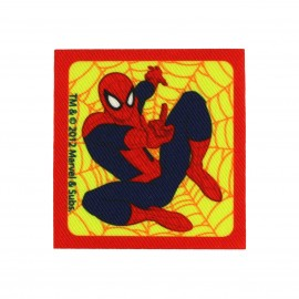 Thermocollant Toile Spider-man toile carrée