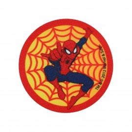 Thermocollant Toile Spider-man toile ronde