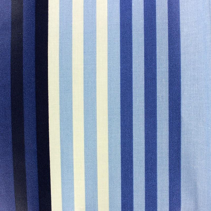 Tissu enduit coton chilienne bleu beige x 10cm ma petite mercerie - Tissu pour chilienne ...