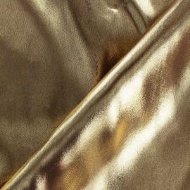 Lurex Lining fabric - bronze x 50 cm