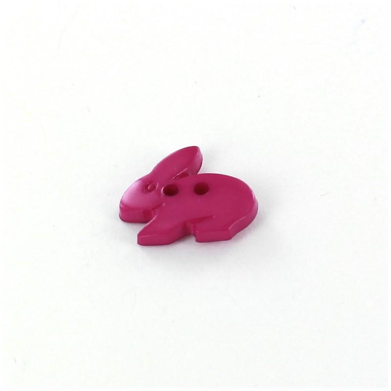 bouton polyester little rabbit violet ma petite mercerie. Black Bedroom Furniture Sets. Home Design Ideas