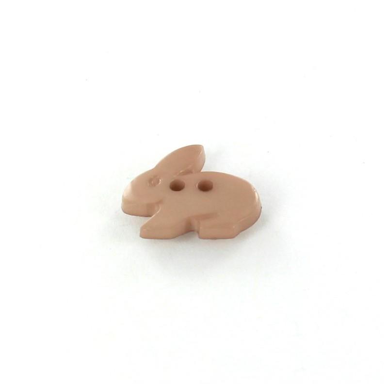 bouton polyester little rabbit gr ge ma petite mercerie. Black Bedroom Furniture Sets. Home Design Ideas