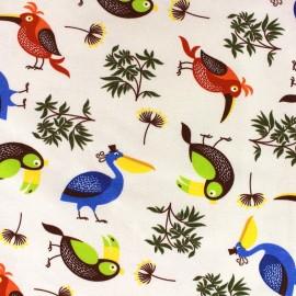 Tissu Jersey Tropical Bird x 10cm