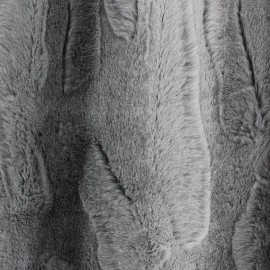 Fourrure Coyote gris x 10cm