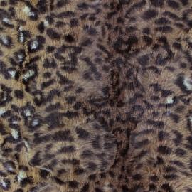 Fourrure Félin marron x 10cm
