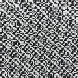 Tissu jacquard motifs optiques x 10cm
